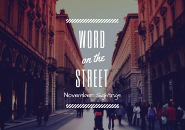 Word on the Street: November 2018