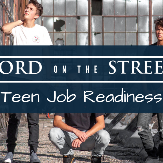 Word on the Street: Teen Job Readiness